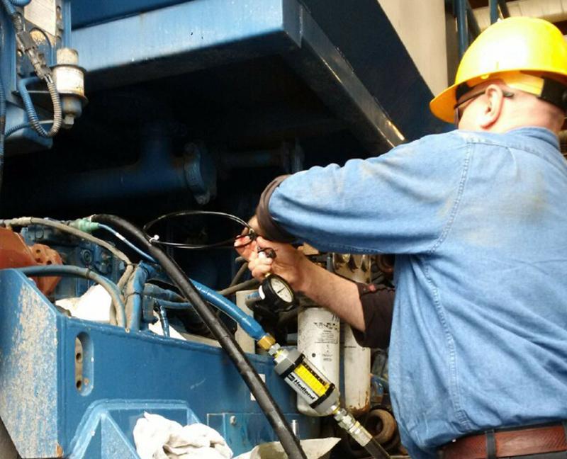 hydraulic, system, repair, testing